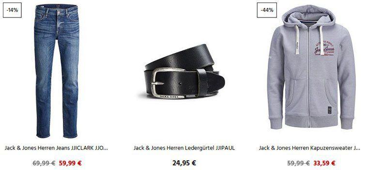 20% Extra Rabatt auf ALLES von Jack & Jones bei Jeans Direct   auch auf reduzierte Artikel
