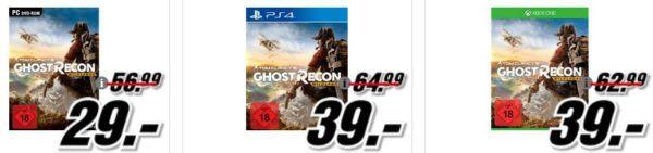 Tom Clancy's Ghost Recon Wildlands [PC] für 29, €   ASUS UX310UQ FC366T Ultrabook 13.3 Zoll für 699€ im Media Markt Dienstag Sale