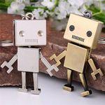 """Schlüsselanhänger """"Roboter"""" in Bronze oder Silber für je 1,12€"""