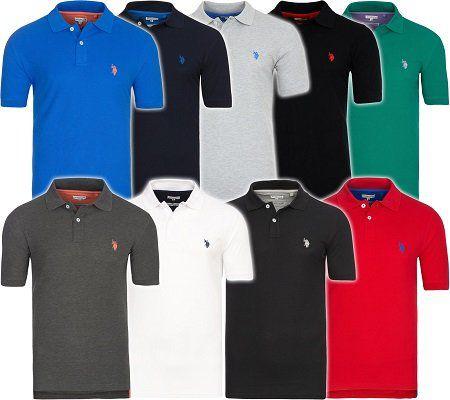 U.S. POLO ASSN. Herren Poloshirts in verschiedenen Farben für 19,89€ (statt 24€)