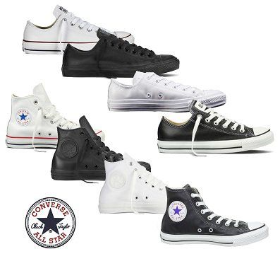 Converse Hi/Low aus Leder ab je 44,90€ (statt 63€)