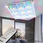 WOFI LED-Deckenleuchte mit 9 x 3 Watt und RGB-Beleuchtung für 54,90€ (statt 68€)