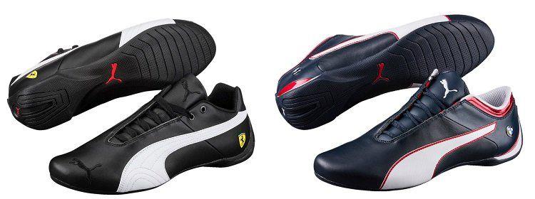 Puma BMW u. Ferrari Future   Herren Leder Sneaker für 33,33€ (statt 74€)