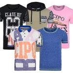 Cipo & Baxx – Herren Motiv T-Shirts für 7,99€