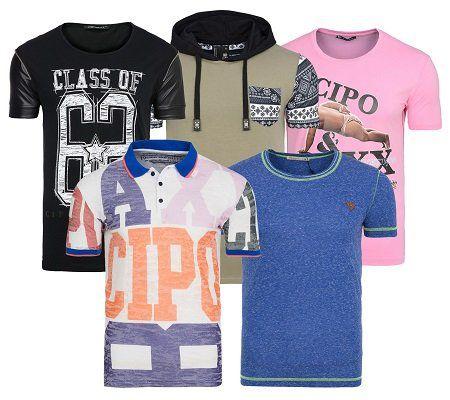 Cipo & Baxx   Herren Motiv T Shirts für 7,99€