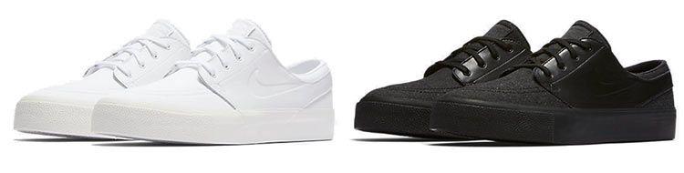 Nike SB Air Zoom Stefan Janoski Elite HT Unsex Sneaker in Schwarz oder Weiß für je 47,23€ (statt 90€)