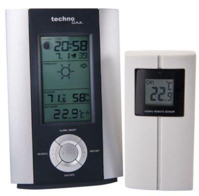 technoLine WS6710   Funkwetterstation mit Aussen Sensor für 19,99€