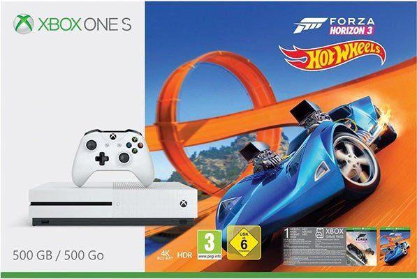 Xbox One S 500GB Forza Horizon 3 Hot Wheels Bundle für 177€ (statt 205€)