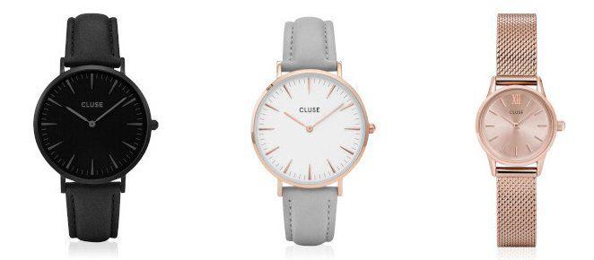 Cluse Uhren Sale bei vente privee   z.B. Cluse La Bohème CL 18422 für 42,40€ (statt 56€)