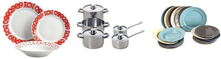 Excelsa Sale mit Geschirr, Küchenutensilien und Haushaltsgegenständen bei Vente Privee