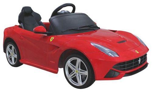 6V Elektro Spielfahrzeug Ferrari für 137,45€ (statt 217€)