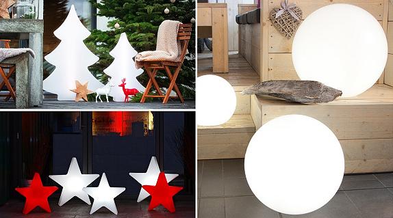 8 Seasons Sale bei Vente Privee   Dekoleuchten für Weihnachten
