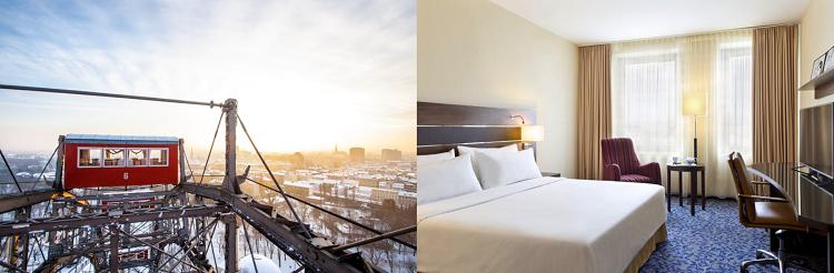 2   4 ÜN im 4* Hotel in Wien inkl. Frühstück und Wellnessnutzung ab 89€ p.P.