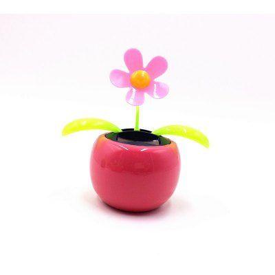 Solar Blume in Pink für das Auto für 0,85€