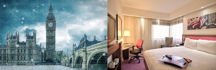 2   4 ÜN im 3* Hotel in London inkl. Frühstück und Flüge ab 109€ p. P.