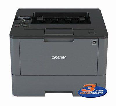 Brother HL L5000D Laserdrucker s/w (A4, bis zu 40 Seiten/Min., Duplex, Parallel, USB) für 88,75€ (statt 108€)