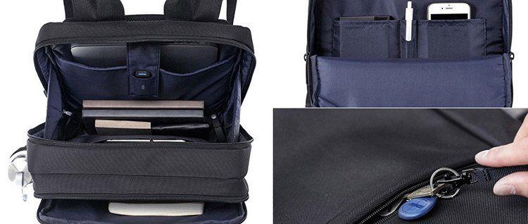 Xiaomi Laptoprucksack in Schwarz für 25,44€
