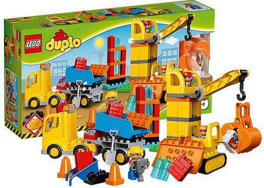LEGO Duplo   Große Baustelle (10813) für 31,95€ (statt 38€)