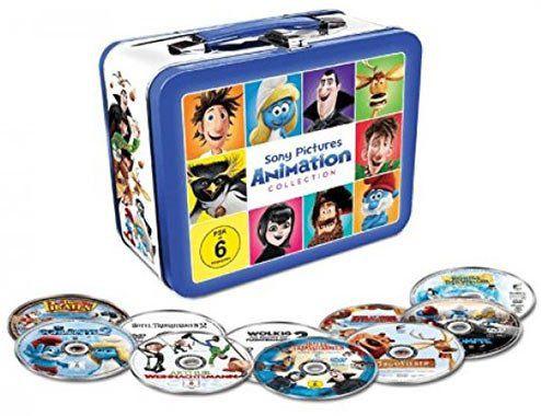 10 Animations Filme im limitiertem Koffer (DVD) für 19€ (statt 24€)
