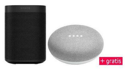 Sonos One + Google Home mini für 229€ (statt 263€)