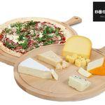 2x Boska 358115 Pizzabrett – Servierbrett Amigo XL aus Buchenholz für 33,90€ (statt 59€)