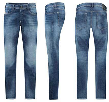 Diesel Herren Jeans Buster 084GR in Blueblack für 67,92€ (statt 87€)