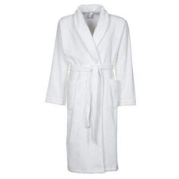 Möve Bademantel (L/XL) in Weiß für 27,95€ (statt 45€)