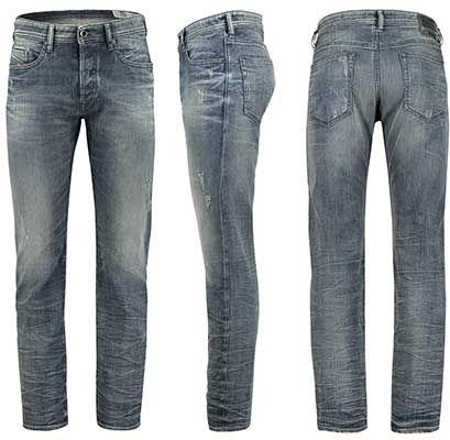 DIESEL Herren Jeans Buster 0854S Regular Slim für 84,91€ (statt 99€)