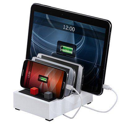 Hama USB Multi Ladestation Powerhouse 4in1 für 15,99€