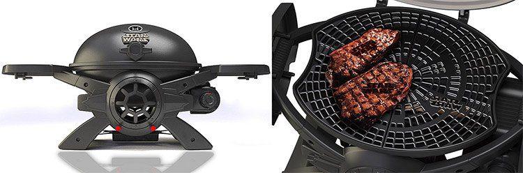 Star Wars TIE Fighter Grill   BroilChef Premium Edition Gasgrill mit integriertem Thermometer für 188,90€ (statt 210€) + 36€ an Superpunkten