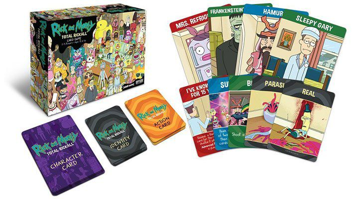 Rick and Morty Total Rickall Kartenspiel für 6,65€ (statt 18,50€)