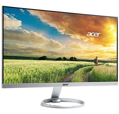 Acer H257HUsmidpx   25 WQHD IPS Monitor im Zero Frame Design mit DTS Sound für 253,99€ (statt 282€)