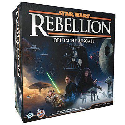 Star Wars: Rebellion   Brettspiel mit über 150 Miniaturen für 64,99€ (statt 74€)