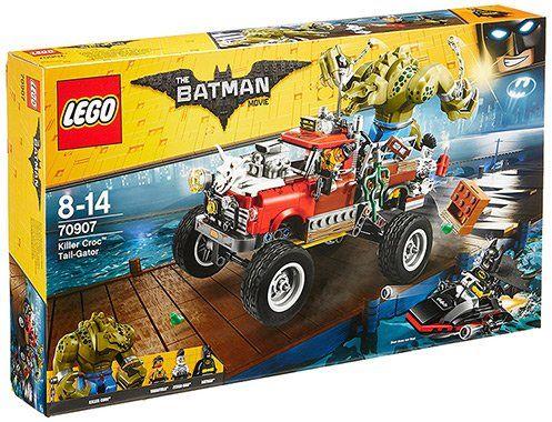 LEGO Batman Movie: Killer Crocs Truck (70907) mit 3 Figuren für 39,89€ (statt 55€)