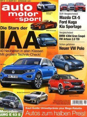 auto motor und sport   Jahresabo für 118,30€ + 100€ BestChoice Gutschein