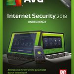 AVG Internet Security 2018 (Jahreslizenz) gratis