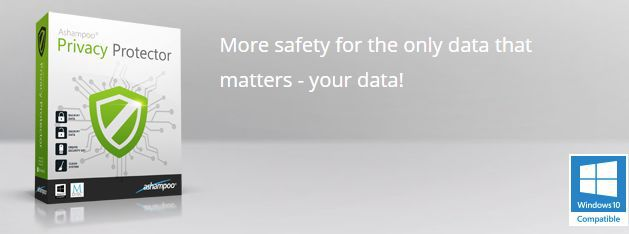 Kostenlos: Ashampoo Privacy Protector – nur bis morgen 10 Uhr