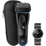 Braun Series 5-5145S Wet & Dry Herren Rasierer + Armbanduhr für 149€ (statt 182€)