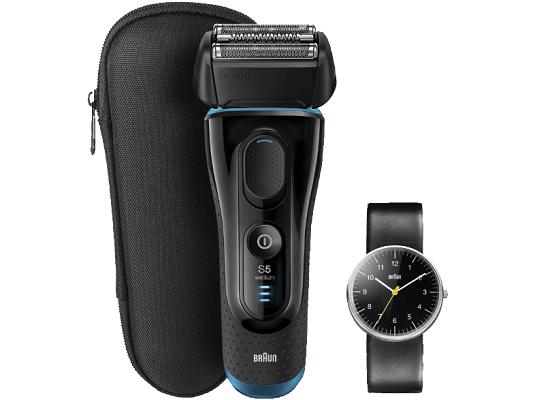 Braun Series 5 5145S Wet & Dry Herren Rasierer + Armbanduhr für 149€ (statt 189€)