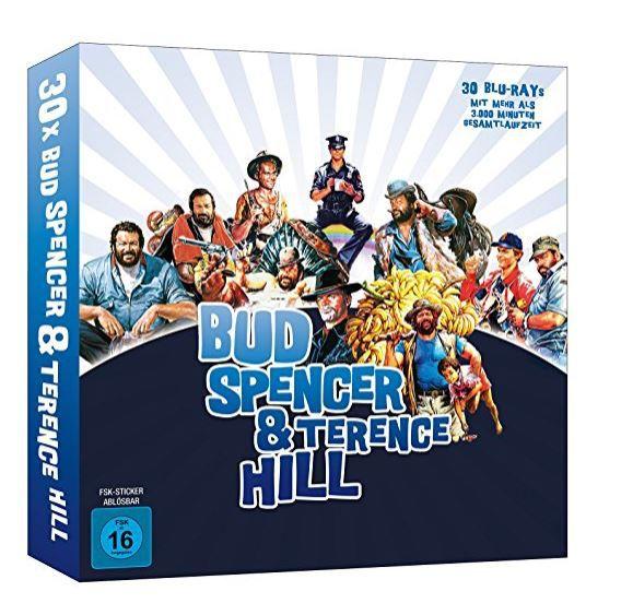 Bud Spencer  u. Terence Hill Buch [Blu ray] Box 30 Filme für 139€