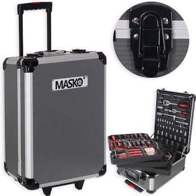 Masko 725tlg Werkzeugkoffer Trolley für 62,80€ (statt 95€)