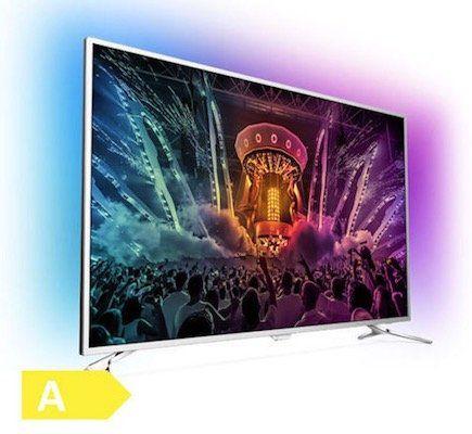 Philips 55PUS6501   55 Zoll UHD Fernseher mit 2 seitigem Ambilight für nur 659€ (statt 735€)