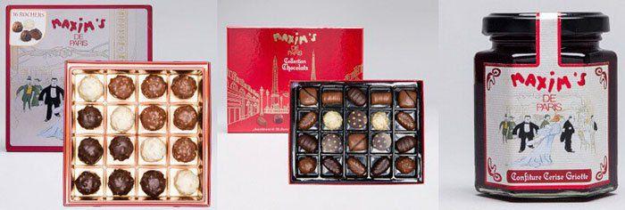 Maxims Geschenkideen (Schokolade etc.) bei vente privee   z.B. 900g Geschenkbox ab 25,90€ (statt 53€)