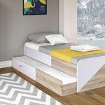 VICCO Kojen Bett Enzo Jugendbett (90 x 200cm) für 74,90€ (statt 100€)