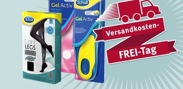 Rossmann: Versandkosten sparen dank Scholl Produkt im Wert von 5€