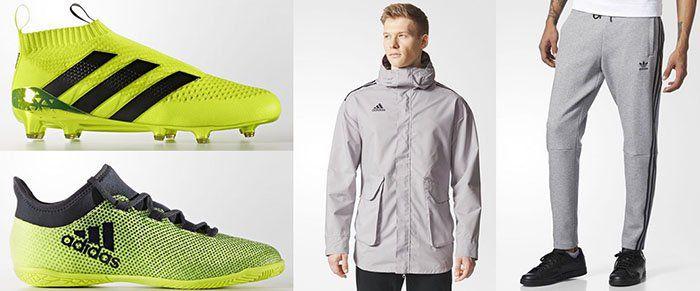 50% auf Fußballschuhe und Kleidung von adidas   z.B. Tango Future All Weather Long Jacke für 59,98€ (statt 94€)