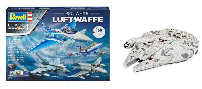 Revell Modellbausätze zu Bestpreisen   z.B. 60 Jahre Luftwaffe für 24,12€ (statt 35€)