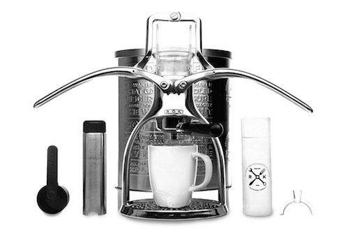 ROK Espressomaschine mit Edelstahl Milchschäumer für 86,79€ (statt 123€)