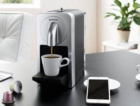 Nespresso Prodigio Kaffeemaschine mit App Steuerung für 99,99€ (statt 128€)