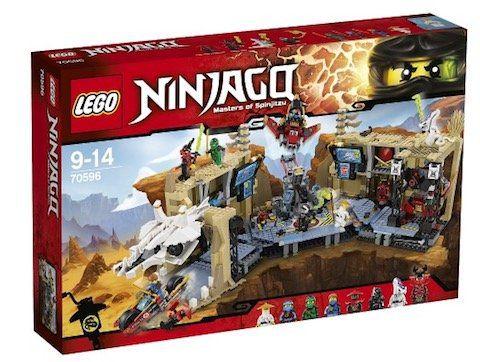 LEGO Ninjago   Samurai X Höhlenchaos (70596) für 79,99€ (statt 98€)